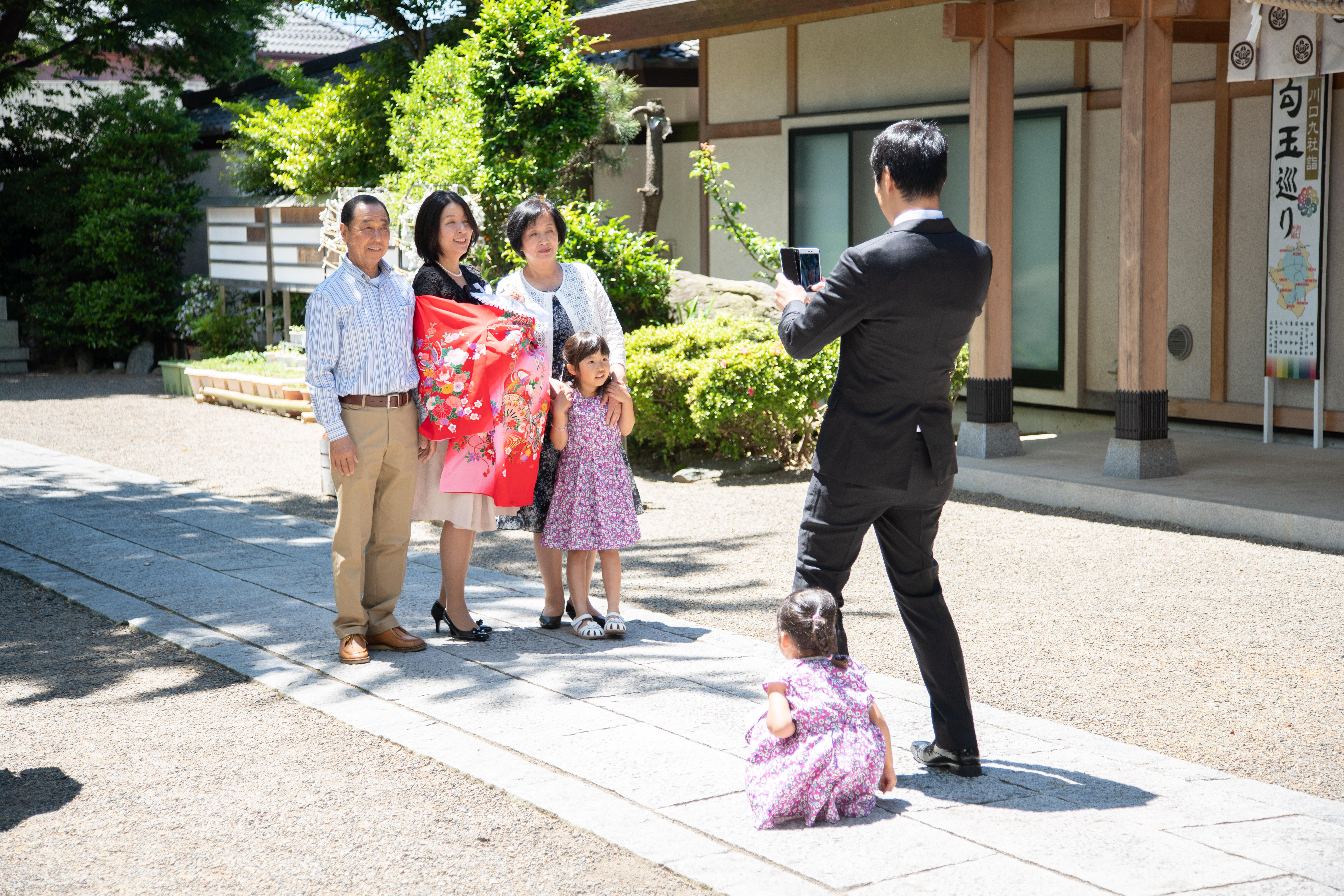 お宮参り-7才前川神社写真館-川口市デザンフォト用撮影