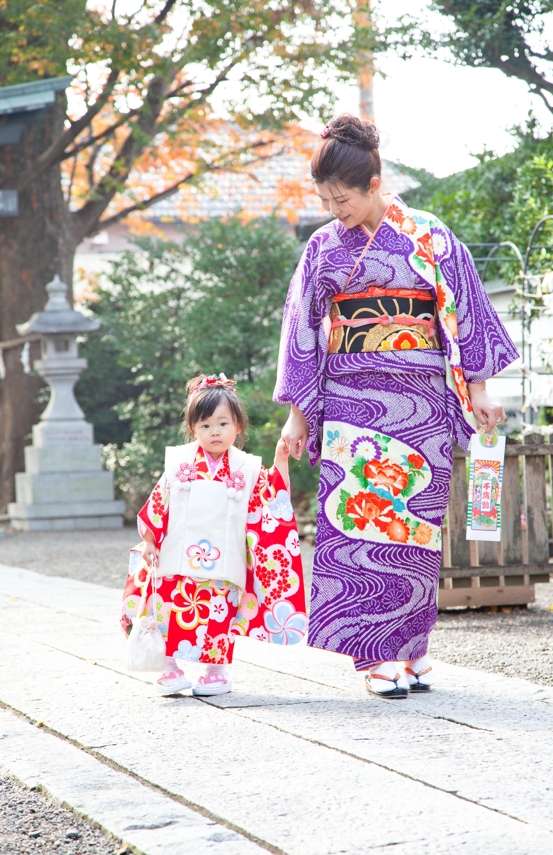 七五三-3才前川神社写真館-川口市デザインフォト用撮影