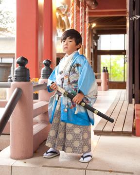五歳-前川神社写真館-川口市