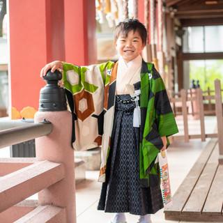 川口蕨の前川神社写真館雨の日神社撮影