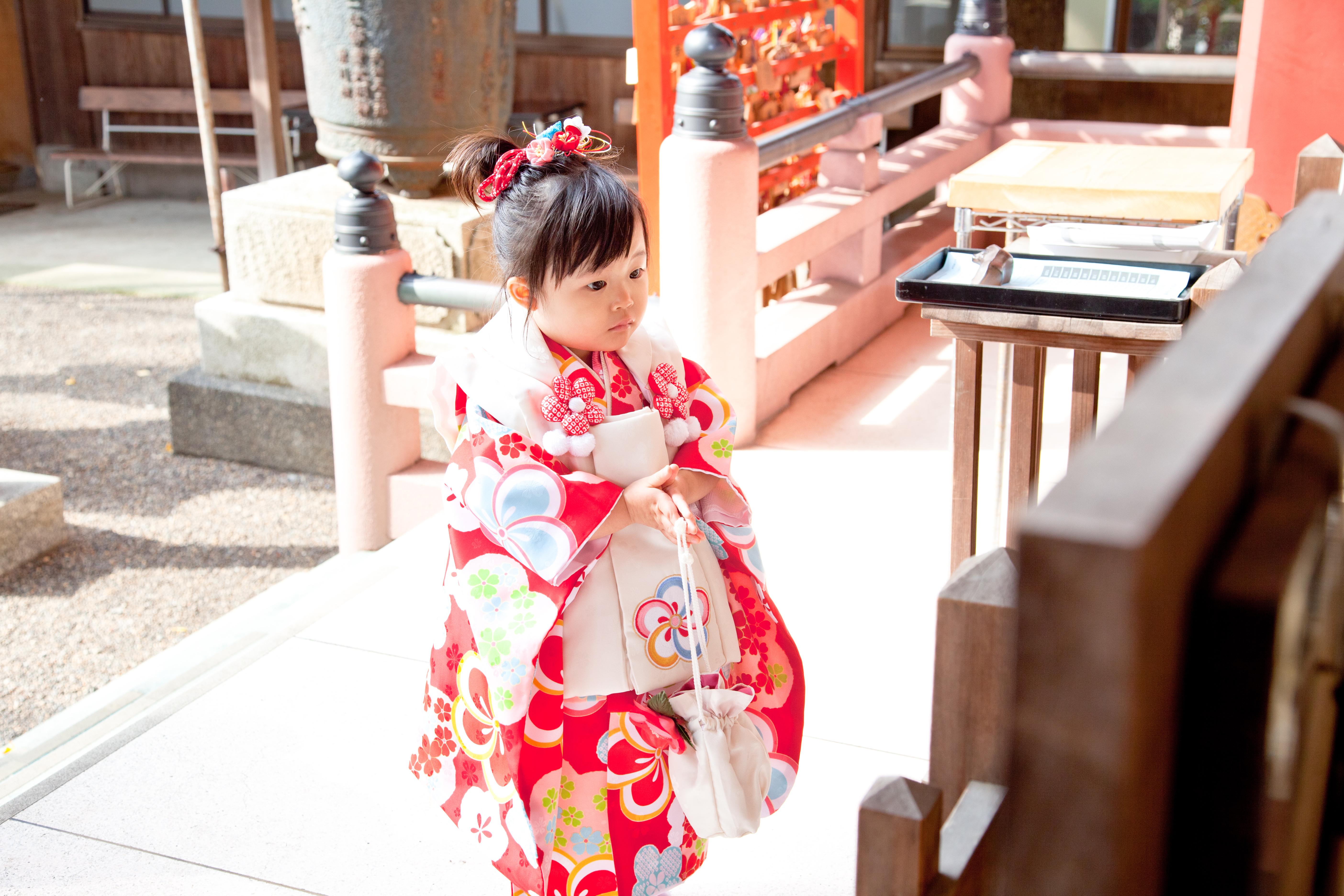 3歳-七五三前川神社写真館川口市女の子着物