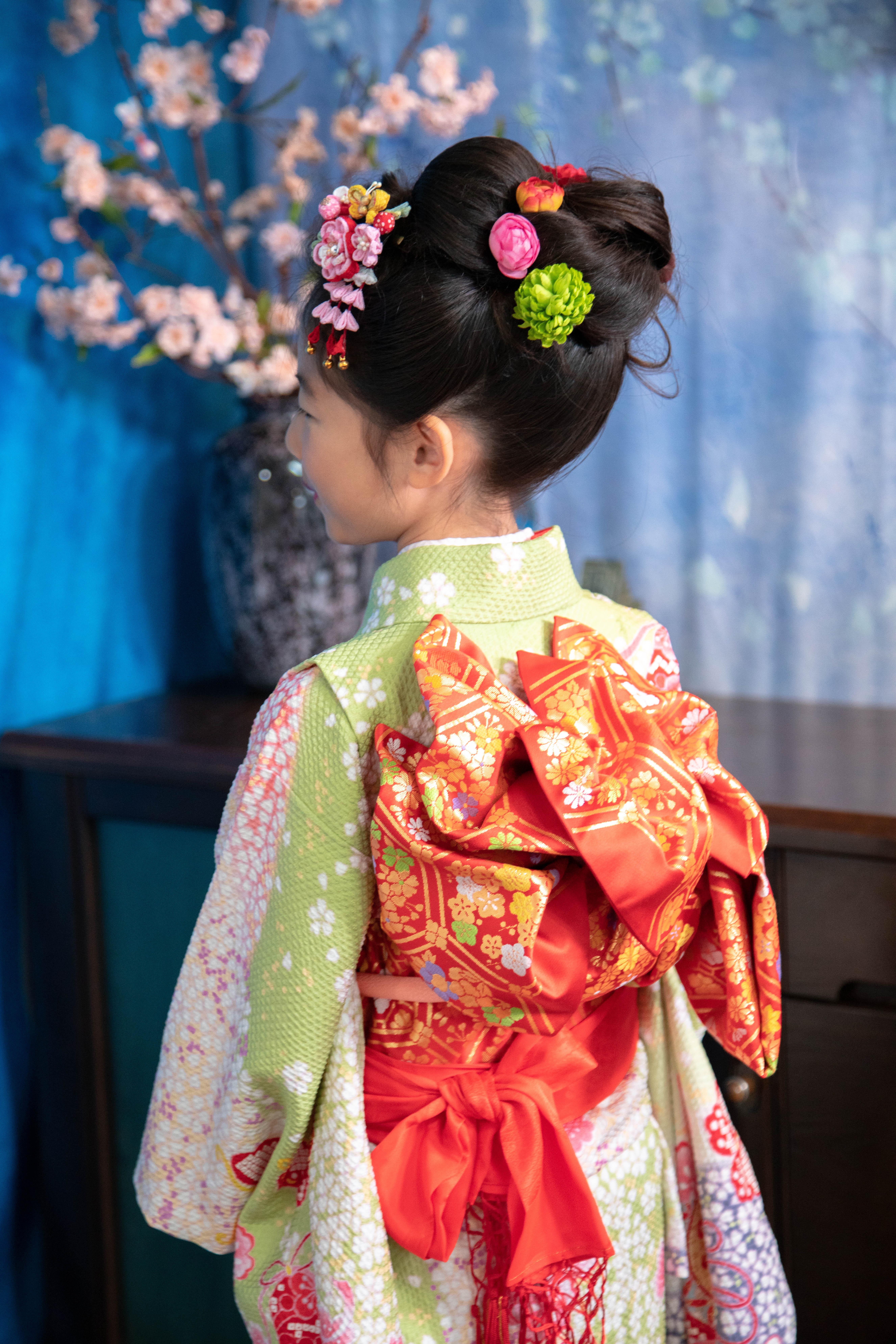 川口蕨で7歳女の子着物レンタルは鈴木写真スタヂオ