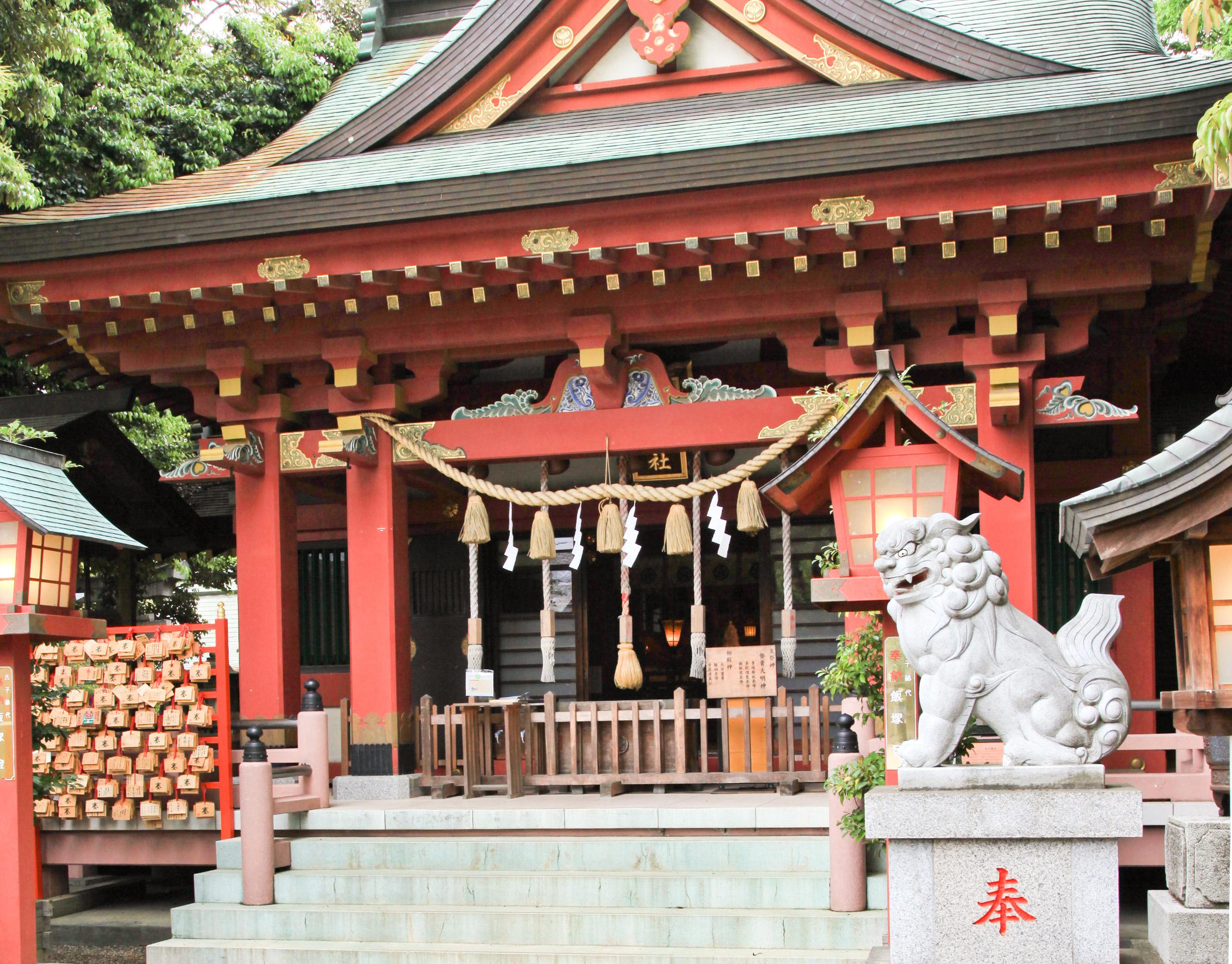前川神社写真館-社殿前