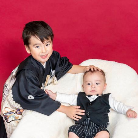 五歳とお宮参り撮影