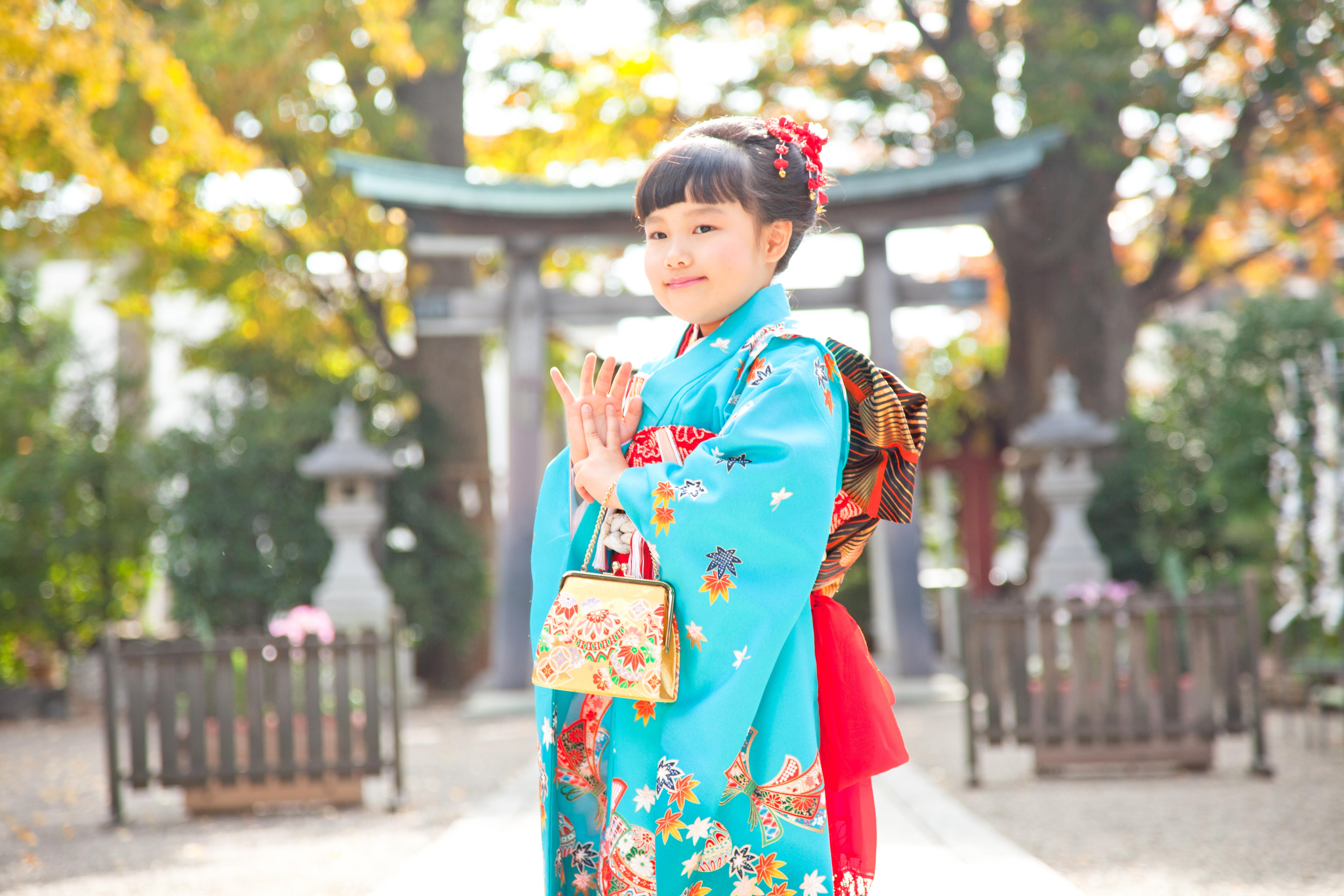 七五三-7才前川神社写真館-川口市デザインフォト用撮影アップ