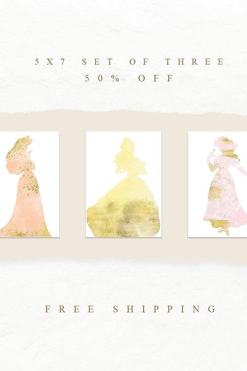 Princess Print Set