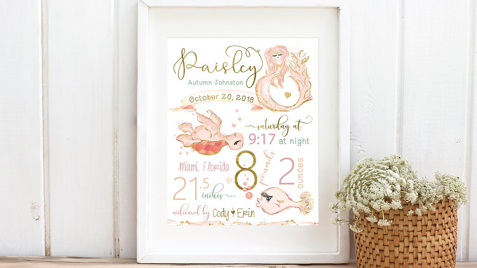 Mermaid Birth Stat
