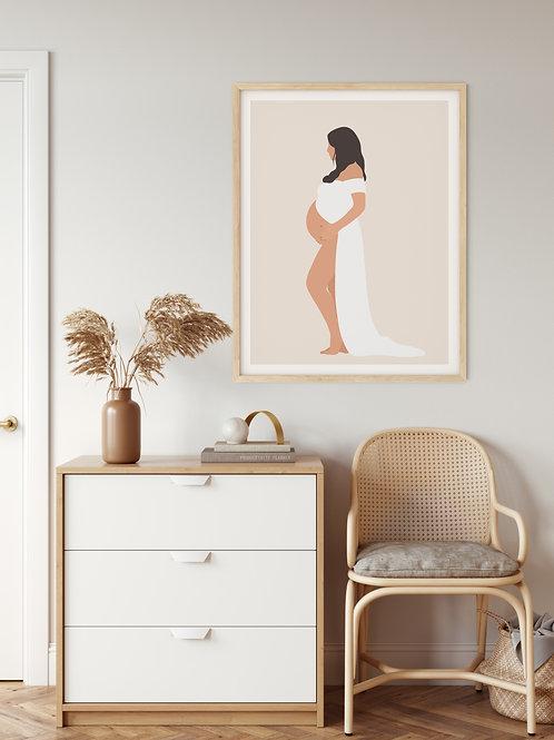 Personalized Maternity Portrait