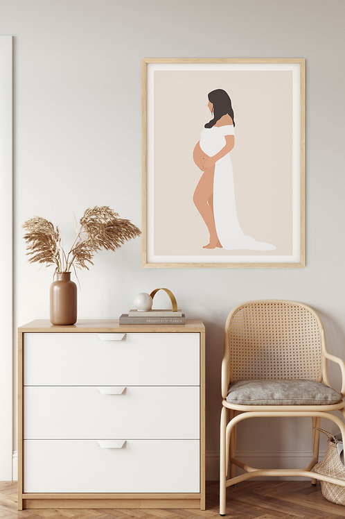 Personalized Maternity Portrait