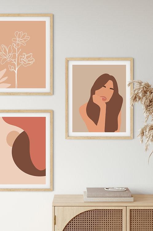 Boho Décor Gallery Wall - Peach Musings