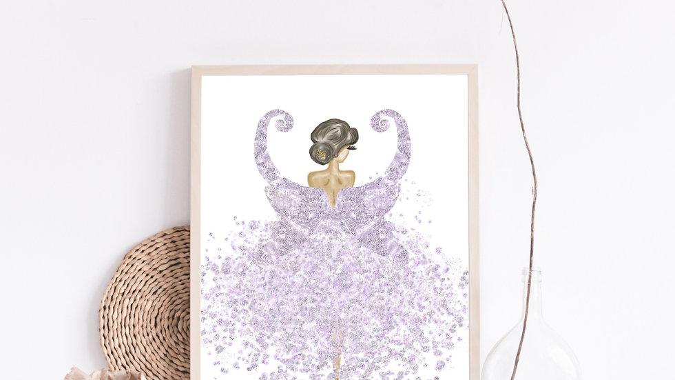 Purple Fairy Princess Nursery
