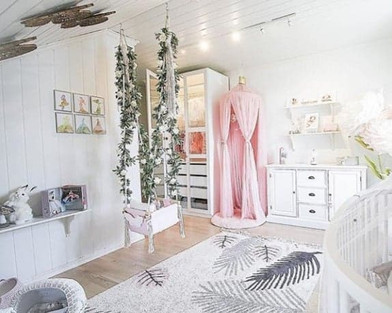 A perfect little girl's room complete with EllowDee princesses♥