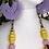 Thumbnail: ON THE FRINGE Earrings /Violet