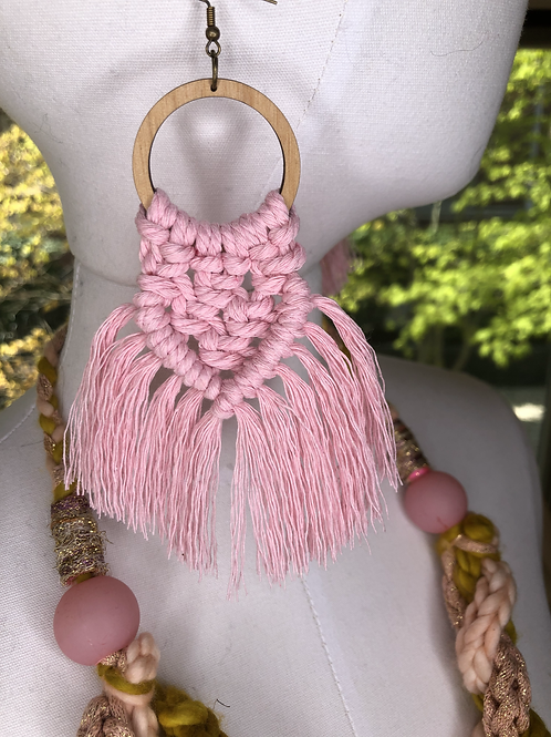 ON THE FRINGE Earrings /More colors!