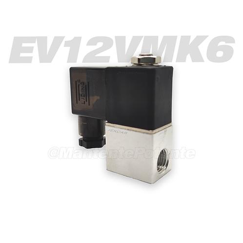 EV12V MK6 ELECTROVALVULA 12 VOLTS CUERPO ACERO