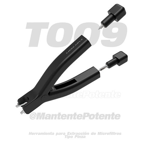 T009 HERRAMIENTA PARA EXTRACCION DE MICROFILTROS EN INYECTORES TIPO PINZA