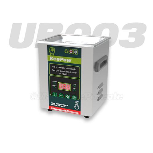 UB003 TINA ULTRASONICA ACERO INOXIDABLE 70 W  2 LITROS