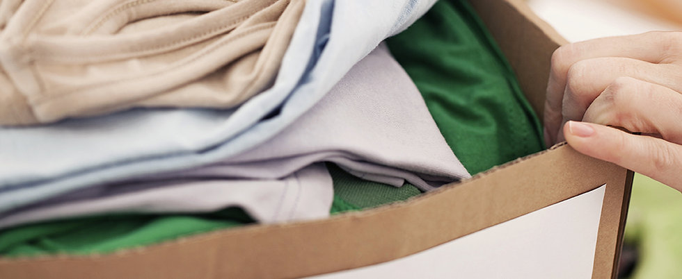 Looking for Used Clothes Donations