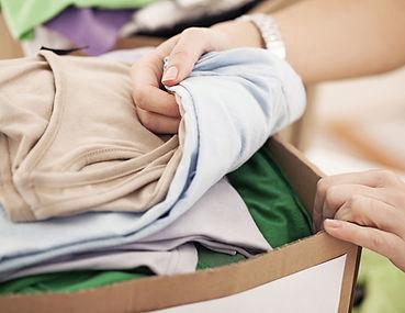 Doação de roupas