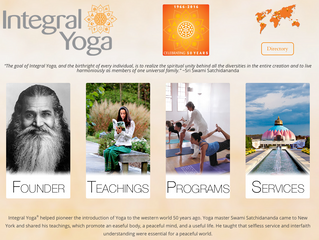 NEW INTERNATIONAL INTEGRAL YOGA WEBSITE