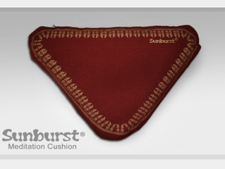 The Sunburst Meditation Cushion, the art of naturally sitting