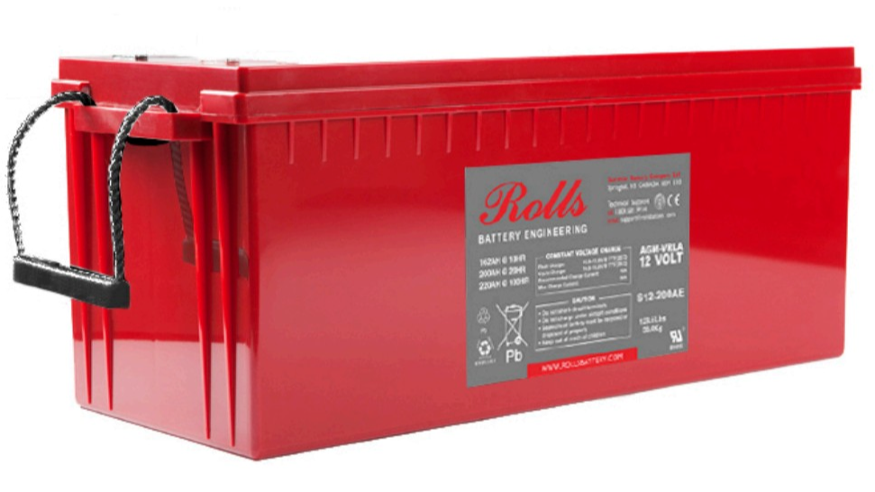Rolls Surrette S12-220AE AGM Deep Cycle Battery