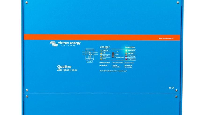 Victron Energy Quattro 48V/15000VA/200-100/100 Inverter/Charger