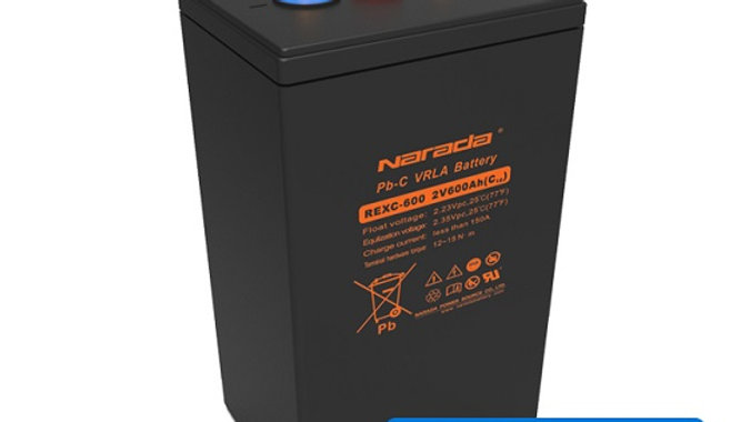 Narada REXC Serries 2V, 600Ah AGM VRLA Battery