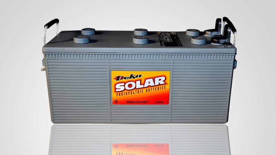 Deka Solar 8G4DLTP-Deka 12V, 210Ah Gel Deep Cycle Battery