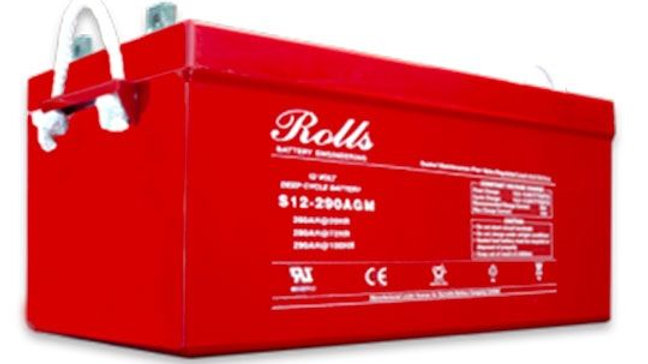 Rolls Surrette S12-290AGM-RE Deep Cycle Battery