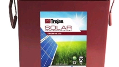 Trojan Battery 12V, 205Ah Solar SAGM 12 205 Deep-Cycle Solar AGM