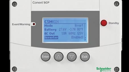 Schneider Electric Conext Solar System Control Panel