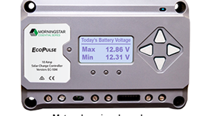 Morningstar EcoPulse Solar Charge Controller - 10 Amp