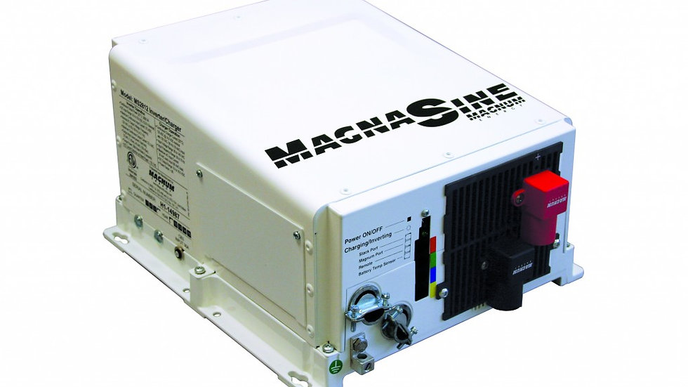 Magnum 4100W, 24V Pure Sine Wave Inverter/Charger