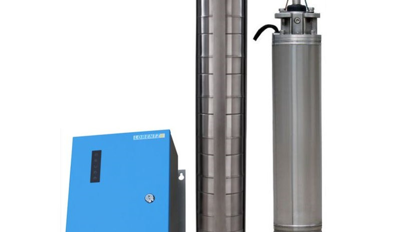 "Lorentz PSk2-7 C-SJ30-6 Solar Submersible Pump System for 6"" wells"