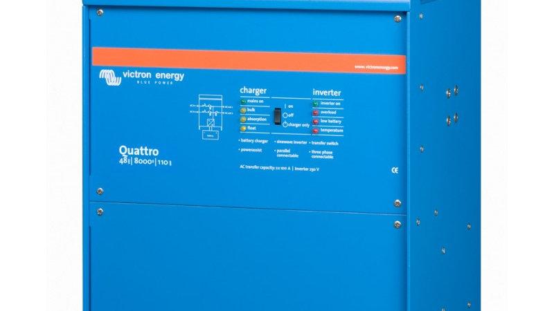 Victron Energy Quattro 48V/8000VA/110-100/100 Inverter/Charger