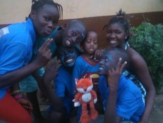 KIDS GO BLUE CELEBRATING CHILD RIGHTS IN SIERRA LEONE!