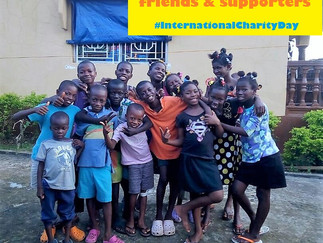 A HUGE SALONE SHOUT OUT ON WORLD CHARITY DAY!