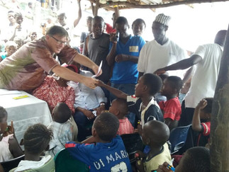 RICE AND SCHOOL FOR 61 EBOLA ORPHANS
