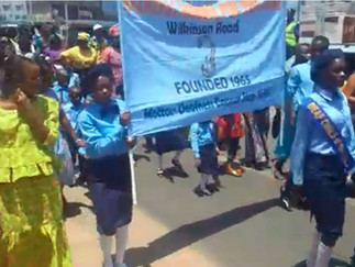 MARCHING FOR DEAF AWARENESS IN SIERRA LEONE