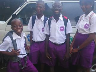 SMART NEW UNFORMS FOR SMART SIERRA LEONE KIDS