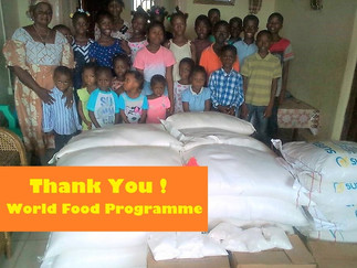 THANK YOU WORLD FOOD PROGRAMME!