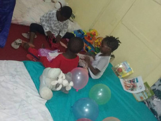 CHILD FRIENDLY SPACE LAUNCHES IN SIERRA LEONE