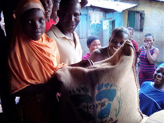 THREE TONS OF RICE FOR VULNERABLE FREETOWN KIDS