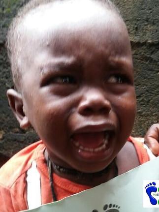Dr Nyama comes to ebola orphans aid