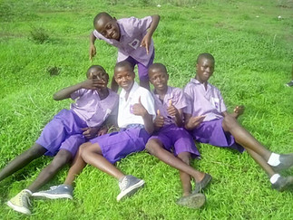 SIERRA LEONE SCHOOL EXAMS OVER!
