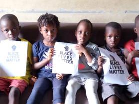CHILDREN OF AFRICA SAY: BLACK LIVES MATTER