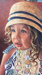 portrait painting by Jami Childers