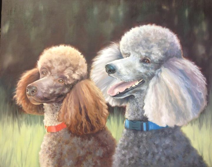 Poodle Duo
