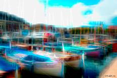 Les pointus au port de Nice